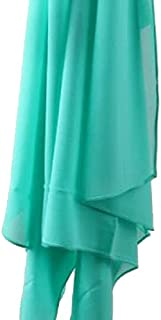Veil - Chiffon Crepe - Smooth Mint Green - High Quality