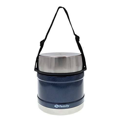 Termo para Comida 1200ml, Frasco Aislada de Acero Inoxidable para Alimentos Bebida Sopa Termo Térmico para Sólido y Líquido para Adultos Niños y Bebés (Azul)