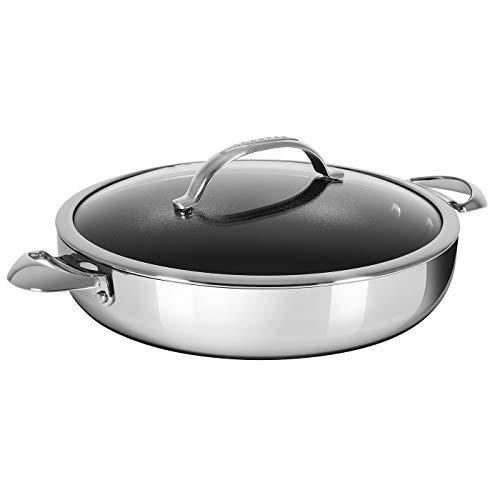 Scanpan Haptiq STRATANIUM+ Nonstick 5.25 Quart Chef's Pan