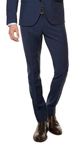 Michaelax Fashion Trade Herren Slim Fit Baukasten Anzughose aus Reiner Schurwolle, Marke: Lanificio Tessile D'oro, Lux (CMP 9999 6730),
