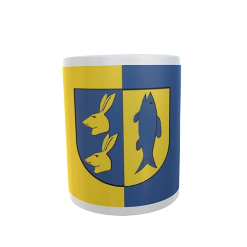 U24 Tasse Kaffeebecher Mug Cup Flagge Dahmen