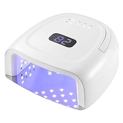 UV LED Nail Lamp Rechargeable Nail Dryer 60W Nail Lamp Portable Nail Light Gel Nail Curing Lamps