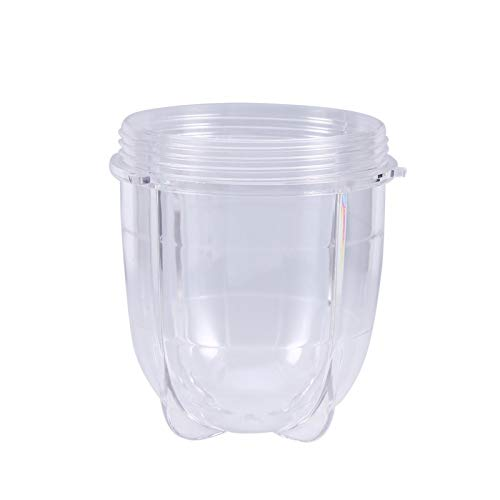 Demeras Taza de licuadora Taza de plástico Accesorios para exprimidor Taza de Base con Forma de Oreja(Tall Cup)
