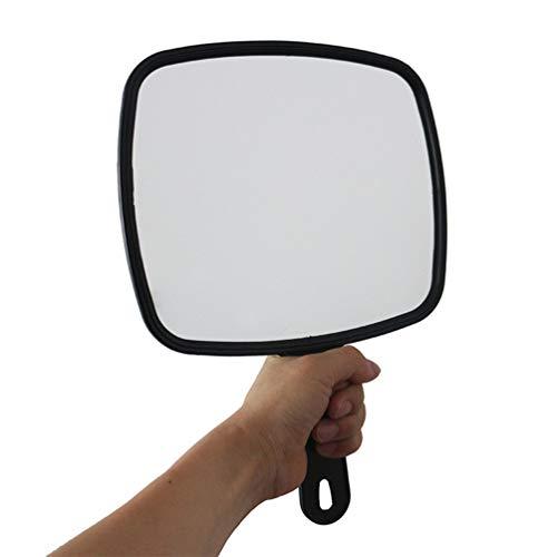 FRCOLOR Espejo de Mano para Peluquería- Espejo de Mano Profesional con Asa...