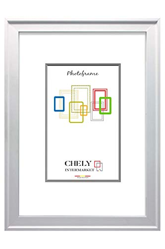 Chely Intermarket, Marco Madera 30x40 cm Blanco Pared