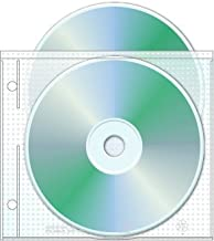 2 Hole Top Load CD/DVD Page, 5.625