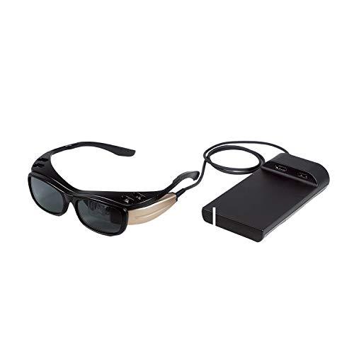 網膜投影ヘッドマウントディスプレイ RETISSA DisplayⅡ QDレーザ QLEWV01-1001