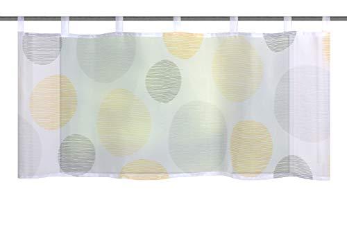 Home fashion BORDEN, polyester, geel, 45x120 cm