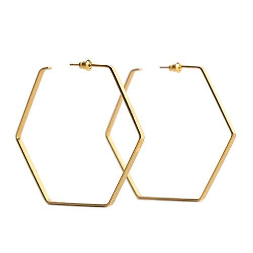 PURELEI® Hau'Oli' Hoops Ohrringe (Gold, Vergoldet)