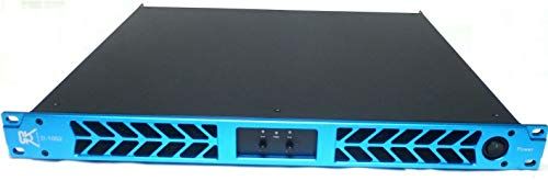 Buy CVR D-1002 Series Professional Power Amplifier 1 Space 1000 Watts x2 at 8Ω BLUE