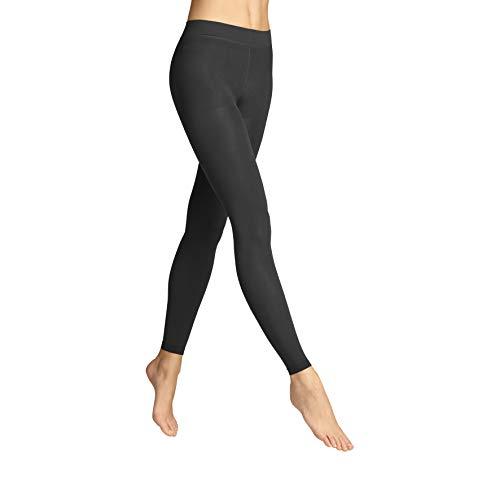 ITEM m6 - OPAQUE LEGGINGS DAMEN | schwarz | S | L2 | Push-up Leggings im 60 DEN Look