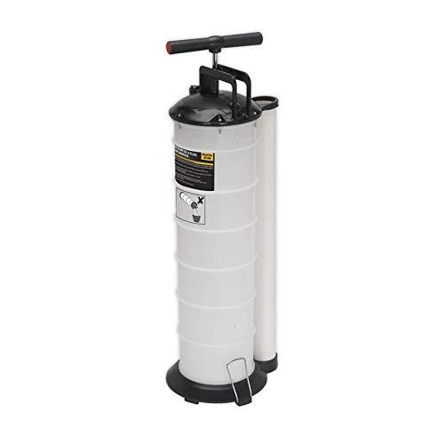 Sealey S01169 Handbuch für Vakuum-Öl- und Flüssigkeits-Extraktor, Mehrfarbig, 6.5L