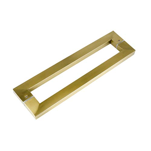 Door Handle Kitchen handle hardware drawer pull rod cabinet bathroom thick stainless steel length 438mm hole distance 400mm