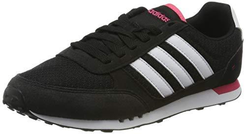 adidas City Racer W, Zapatillas de Deporte para Mujer, Negro...