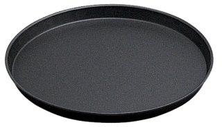 Pizzablech Ø 50 cm gebördelter Rand