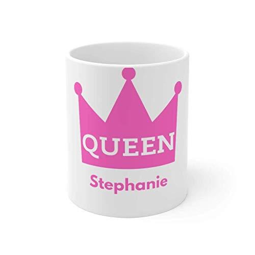Stephanie Mug Quarantine Gift For King or Queen 11oz