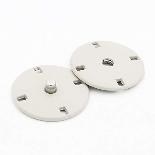 【選べるサイズ】スナップボタン コートボタン ジャケットボタン 隠しボタン 手芸 裁縫 服 ハンドメイド 21mm 12.5mm (大:4ペア)