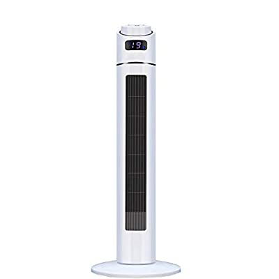 ZP-Mu Mobile Air Conditioner - Negative Ion Water Cooling Fan Tower Fan Silent Remote Control Leafless Fan Refrigeration Air Conditioning Fan