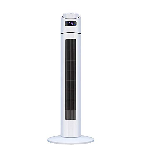 ZP-Mu Mobile Klimaanlage - Negative Ionen Wasserkühlung Lüfter Turm Lüfter Geräuschlose Fernbedienung Blattloser Lüfter Kälte Klimaanlage Lüfter