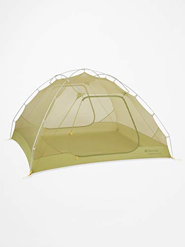 Marmot Unisex's Tungsten UL 2P Ultralight Person, Small 1/2/3/4 Man Trekking, Camping Tent, Absolutely Waterproof, Wasabi, 2