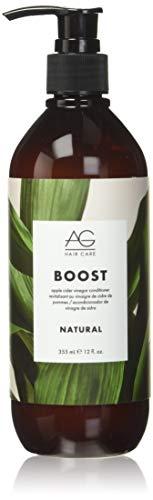 AG Hair Natural Boost Conditioner, Apple Cider Vinegar, 12 Fl Oz