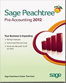 peachtree software 2012