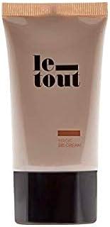 comprar comparacion BB Cream Le-Tout - Crema Hidratante de Tono Medio, BB Cream Vegana, Protección Solar SPF 30, Sin Parabenos