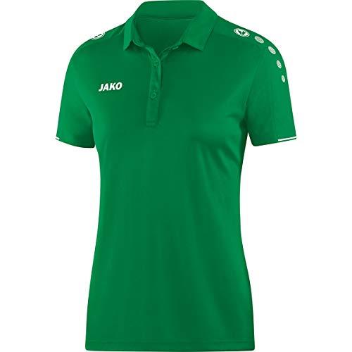 JAKO Polo pour Femme, Taille 40, Vert