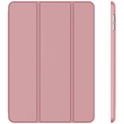 JETech Case for iPad (9.7-Inch, 2018/2017 Model, 6th/5th Generation), Smart Cover Auto Wake/Sleep, Pink
