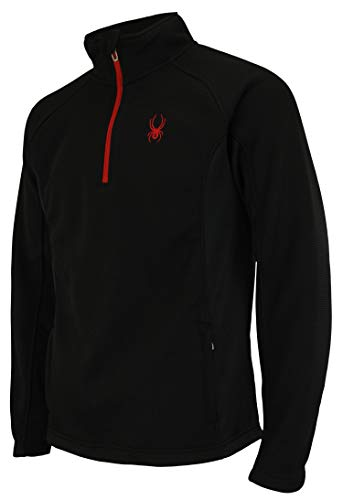 Spyder Men Outbound 1/4 CORE Sweater Black Size M