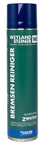 Zecto® Qualitativ Hochwertiger Bremsenreiniger, 600ml, Acetonfrei, Schutz vor Rost, Öl und Anderen Fetten, für Profi- und Privat-Gebrauch