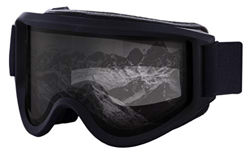 Ski & Snowboard Goggles - OTG Snow Glasses for Skiing, Snowboarding & Outdoor Winter Sports - Fits Men, Women & Youth