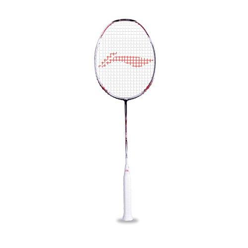 Li-Ning N-90 III N Series Badminton Racquet (White/Red)