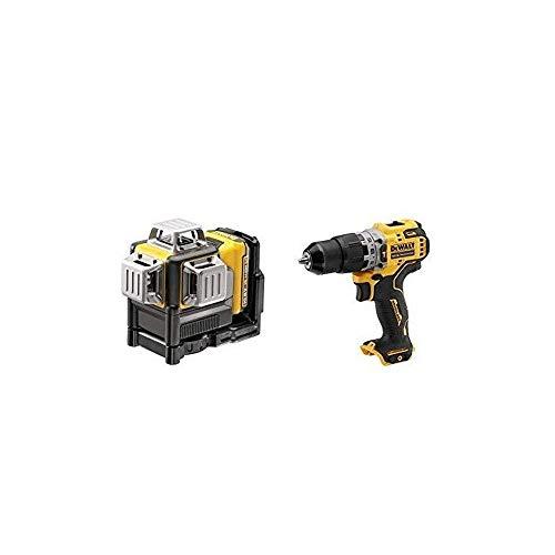 DeWalt CPROF619 CPROF619-KIT = DCE089D1G + DCD706N (Laser + Taladro PERCUTOR 12V SIN Cargador NI BATERÍA)