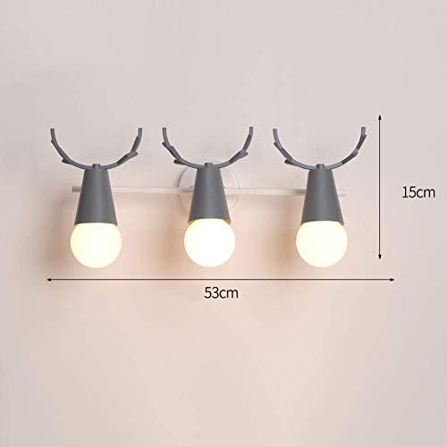Wandstaal instelbare richting wandlamp slaapkamer flexibele hoek modern café kinderkamer strijkijzer wandverlichting