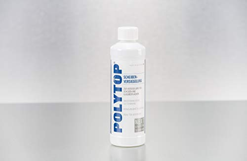 Polytop Scheibenversiegelung Glasversiegelung Fahrzeugscheiben Duschkabine 500ml