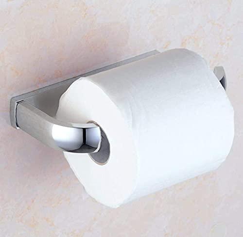 DZNOY Titular de Tejido 304 Teléfono de Acero Inoxidable Tenedor de Papel higiénico Baño Baño Caja de pañol Rollo de Inodoro Caja de Papel higiénico Soporte de Papel higiénico
