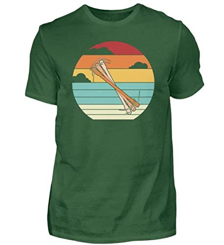 Penspinning Pen Spinning | 01501 - Camiseta para hombre, Verde botella., XXL