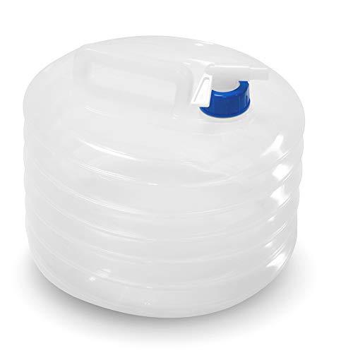 ウォーターバッグ ポリタンク 抗菌 伸縮ウォータージャグ 避難防災グッズ ウォータータンク 折りたたみ式 非常用貯水袋 給水袋 10L水袋 コンパクト 持ち運び便利 (ホワイト)