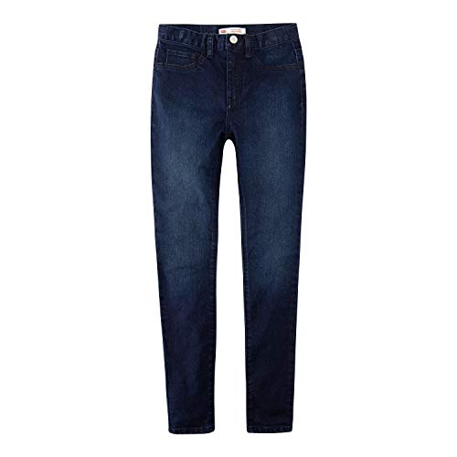 Levi's Girls' Toddler 720 High Rise Super Skinny Fit Jeans, Night Bird, 4T
