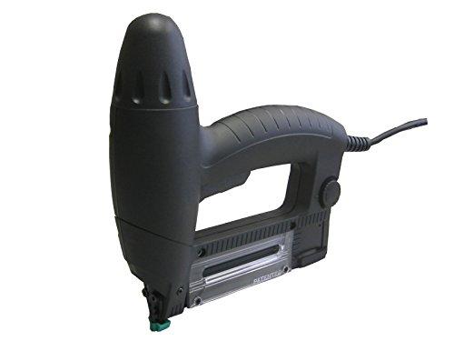 Agrafeuse professionnelle travaux et bricolage Novus Agrafeuse /électrique J-105 avec r/églage de force dimpact Agrafeuse cloueuse avec but/ée de distance