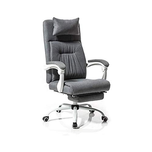 JKDZYD Reclinable Silla de Oficina sillas Ajustables...