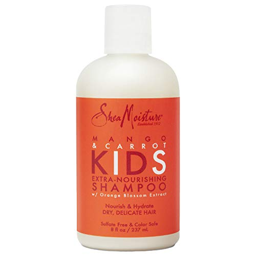 Sheamoisture Extra-Nourishing Shampoo for Kids Mango Carrot with Shea Butter 8 oz