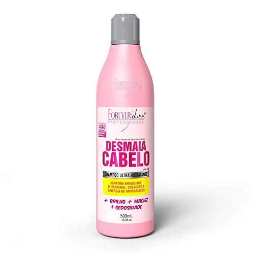 Shampoo Desmaia Cabelo, FOREVER LISS, Rosa, 500 Ml