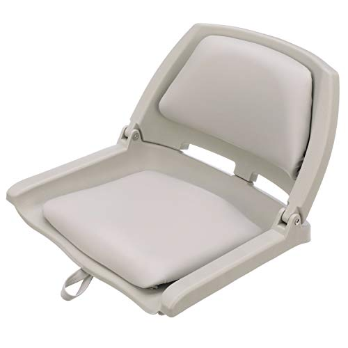 Attwood 98391GY Padded Boat Seat, Gray,...