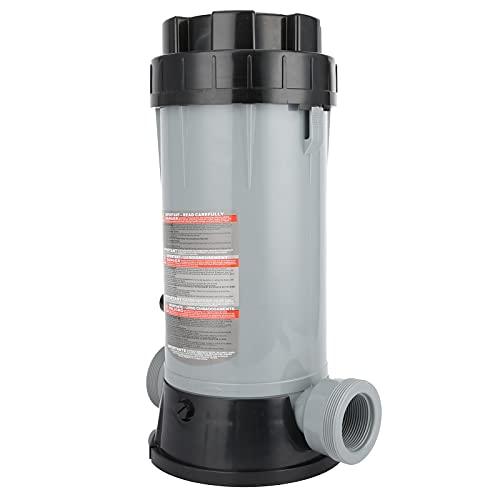 01 Clorador de Piscinas, alimentador automático de Productos químicos Ajustable para Limpieza de Jardines para Piscinas