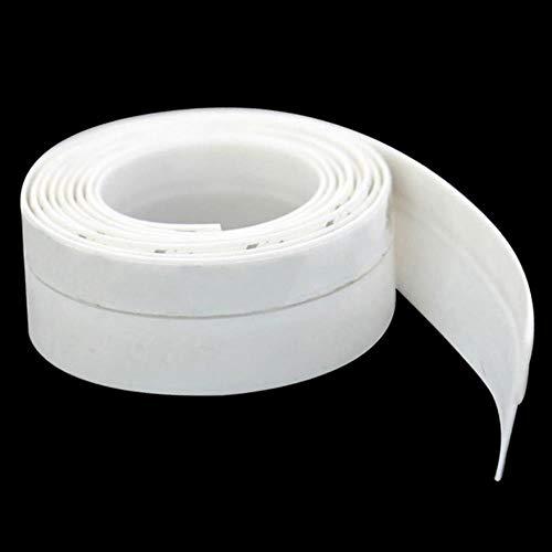 1 stuks zelfklevende afdichtstrip 1M siliconen deurraam ontwerp stofdichte tochtstrip LO88, wit, 25 mm