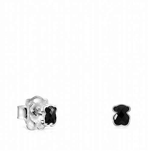Pendientes Mini Onix de Plata con Ónix