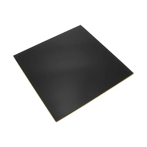 Wisamic 3D Drucker Glasplatte Oberfläche Hartglas - 220 x 220 x 3 mm, für 3D Drucker MK2/MK2A, Anet A8, Anet A6, Reprap, Mendel