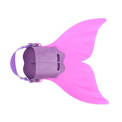 ROSEBEAR Cola para Nadar Adolescentes Inmersiones Superficiales Sirenas Monoaleta Aletas Cola